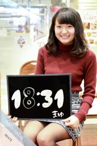 盛岡美人時計モデル まゆ