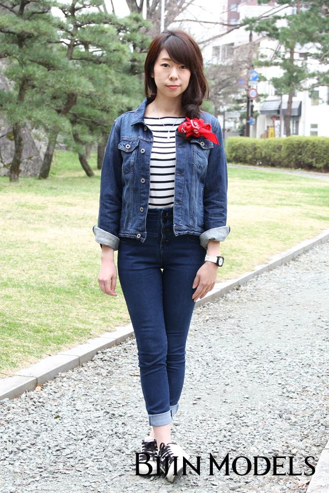 盛岡美人時計モデル yui