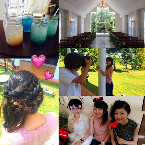 結婚式はアンソレイユさんで決まりっ!❤︎❤︎